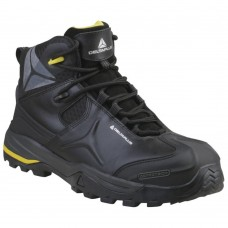 Metal Free Delta Speed Lace Water Resistant Leather Full Safety Boots