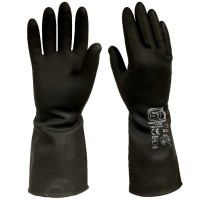ST Heavyweight Latex Chemical Resistant Gauntlet 44cm 17''