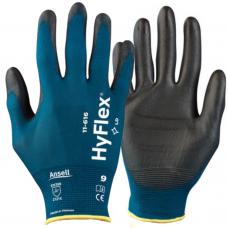 Ansell Hyflex 11-616 PU Palm Lightweight 18 gauge Liner Precision Gloves