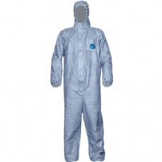 Dupont Tyvek® Classic 500 Xpert Hooded Coverall Type 5/6 Blue
