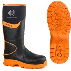 High Visibility S5 Neoprene/Rubber Non Metal Safety Boots