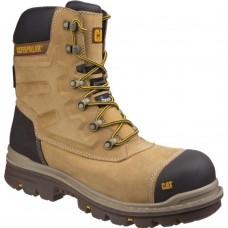 CAT Premier High Leg Caterpillar Honey S3 Full Safety Boots