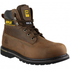 CAT Holton Brown Leather SB Caterpillar Safety Boots