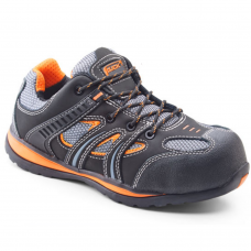 Metal Free Action Full Safety Trainer with Orange Trim