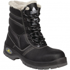 Cold Work Freezer Boots Leather High Top Fur Lined -30°C