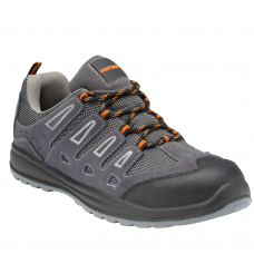 Worktough Spirit Grey Suede Upper with Flexible Composite Midsole