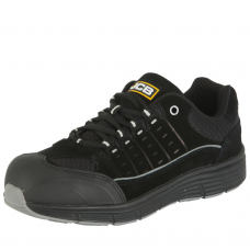 JCB Trekker B Black Waterproof Unisex Safety Low Cut Trainer