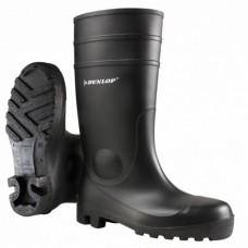 Dunlop Protomaster Black Full Safety Wellington Boot