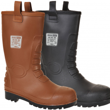 Neptune Waterproof PVC/Nitrile Safety Rigger Boot