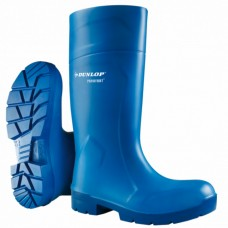 FoodPro Blue Dunlop Purofort MultiGrip Safety Wellingtons
