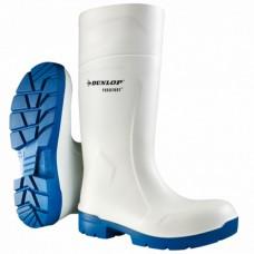 FoodPro White Dunlop Purofort MultiGrip Safety Wellingtons