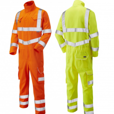 High Visibility ISO 20471 Class 3 Railway Standard RIS-3279-TOM (Orange) Coverall