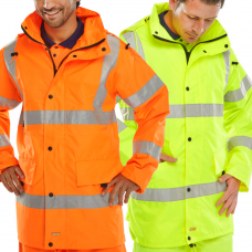 Best Price Breathable & Waterproof Jacket Class 3 & Railspec Orange