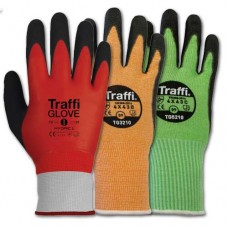 Colour Coded Cut-Resistant Gloves