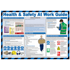 Health and Safety at Work 59 x 42cm Safety Poster