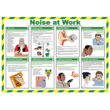 Noise at Work 59 x 42cm Safety Poster
