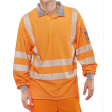 ARC Flash GO/RT Polo Shirt Orange