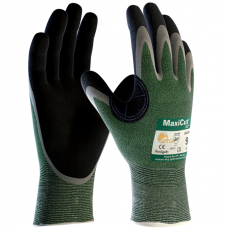 MaxiCut Oil Grip Cut Resistant Level 3 / B 1.3mm Palm Safety Gloves 4331