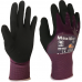 MaxiDry 56-425 Knuckle Coated Oil Resistant Double Layer Nitrile Glove