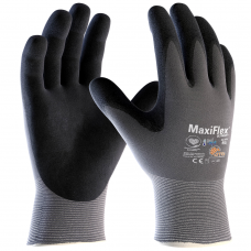 ATG Maxiflex Ultimate Lightweight Palm Coated Nitrile Gloves