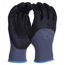 Knuckle Coated Foamed Nitrile on Grey Nylon Liner Uci Work Glove