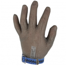 CHAINEX 2000 Full Stainless Steel Chainmail glove with strap /GLOVE