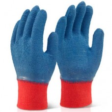 Click Fully Coated Grippy Crinkle Latex Rubber Coated Wet Work Gloves