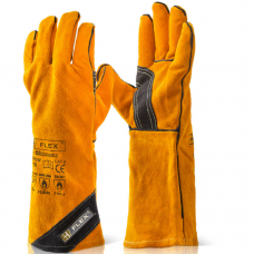 B-Flex 350 degrees Premium Golden Welders Gauntlet Type A