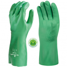 Showa 731 Biodegradable Chemical Handling Nitrile Gloves 35cm