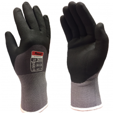 Pawâ PG102 Ultra L/Weight 15 gauge Breathable  Knuckle Coated Work Gloves