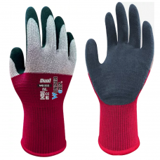 Wonder Grip® Dual Breathable Back Secure Fit Latex Palm Gloves