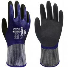 Wonder Grip® Oil Plus 15 Gauge Double Nitrile Palm Coated