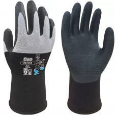 Wonder Grip® Duo Breathable Back Secure Fit Foam Nitrile Palm Gloves