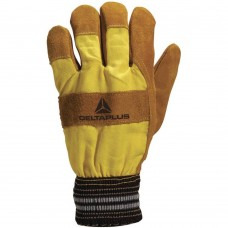 -20ºC Contact 2 Cowhide Leather Freezer Gloves Knit Wrist