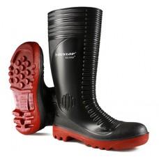 Dunlop Acifort Ribbed Waterproof Safety Wellington Oil Resistant Sole