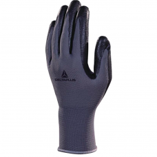 Delta Plus Polyester Knitted Glove - Nitrile Foam Palm
