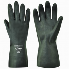 Polyco Maxima H/Duty Natural Rubber Chemical Use Gauntlet 30cm