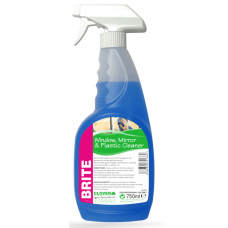 Brite Glass and Plastic Cleaner 750ML RTU Trigger Spray