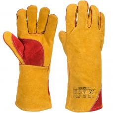 Extreme Temperature Reinforced Welders Gauntlet Type A
