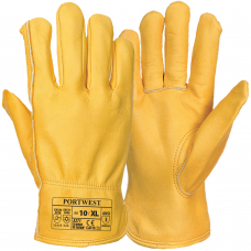 Cold Tested Conatct 2 Leather Lined Drivers Gloves
