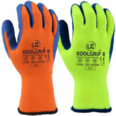 Uci Koolgrip Heat & Cold Resistant High Vis Latex Coated Safety Gloves