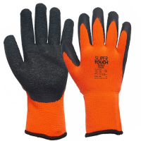 Topaz Cool Fleecy Lined Cold Weather Eco Rubber Palm Gloves