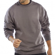 Polycotton Pull On Sweatshirt 300gsm Click