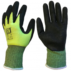 Supertouch Deflector F Highest Cut Resistant Score F Nitrile Palm Gloves
