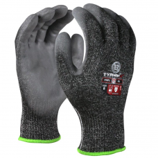 New EN388 ISO Cut Level E (5) PU Coated Safety Gloves