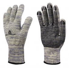 Deltaplus Venicut 56 Cut 5 & Heat Resistant TAEKI® 5 Dotted Palm Gloves ISO Cut C