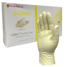 Disposable Powder Free Latex Examination Gloves 100 hands/box (Cranberry)