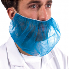Disposable Polypropylene Beard Snood Blue x 1000