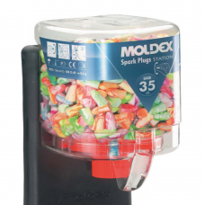 Moldex 7825 Spark-Plug 250 pairs Earplug Station Refill SNR 35