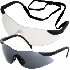 Wraparound Arafura™ UCi Safety Glasses & Neck Cord